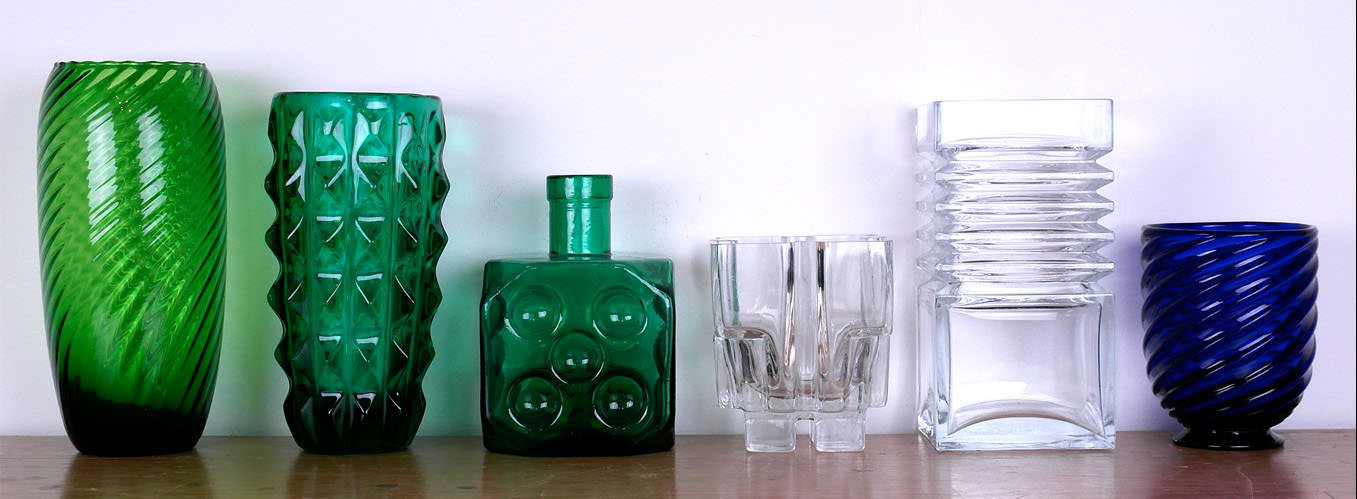 Vintage art glassware